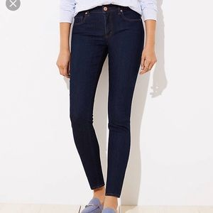 LOFT size 30 Curvy Skinny Jean